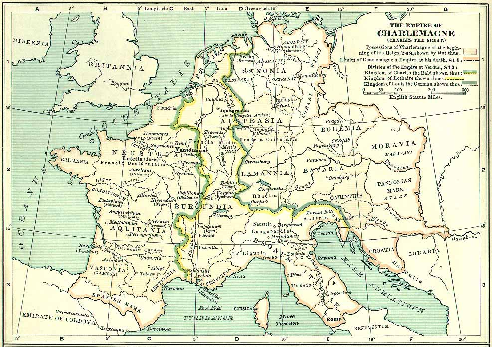 ... The Empire Of Charlemagne ...