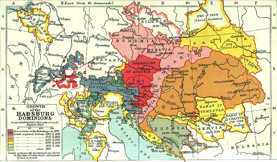 Map Of Germany 1815.Historical Maps Of Germany